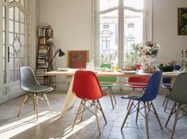 Wohnen mit Designklassikern