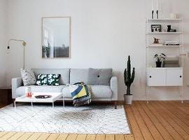 Wohnen im skandinavischen Stil